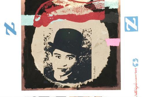 "Detalhe de ""Mundo louco"", de Vlad Eugen Poenaru."