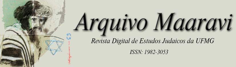 Arquivo Maaravi: Revista Digital de Estudos Judaicos da UFMG