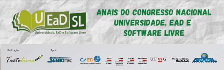 Anais do Congresso Nacional Universidade EAD e Software Livre